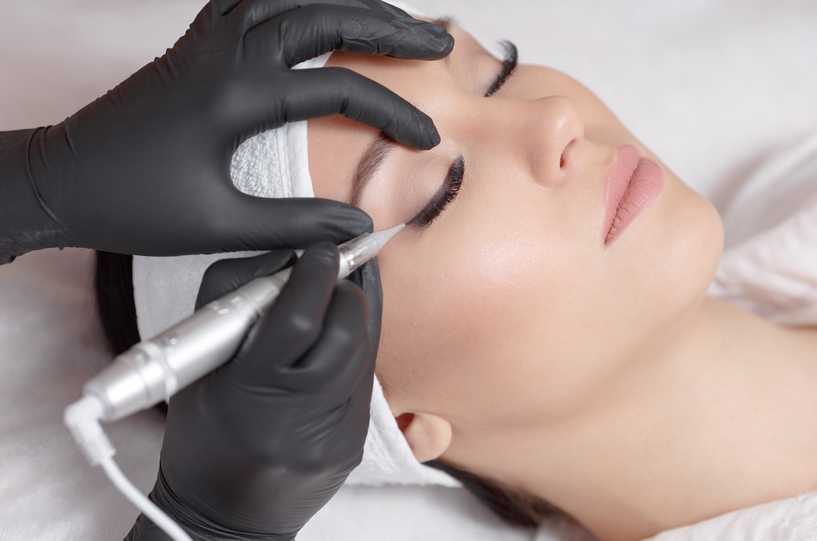 Medical Permanent Makeup With Pigments