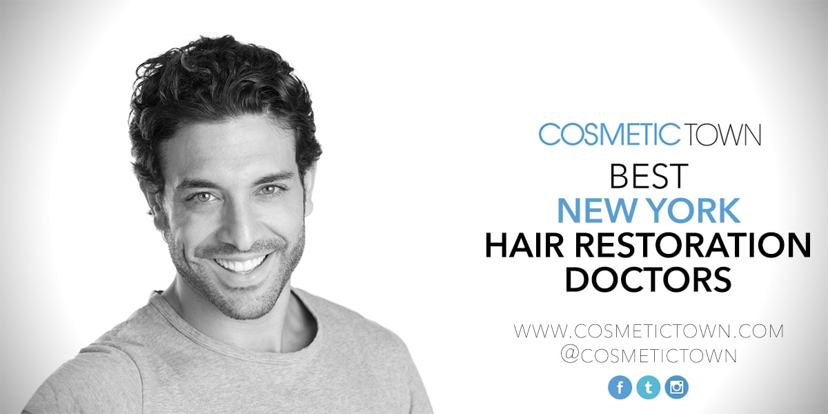 The list of the best hair restoration doctors in New York