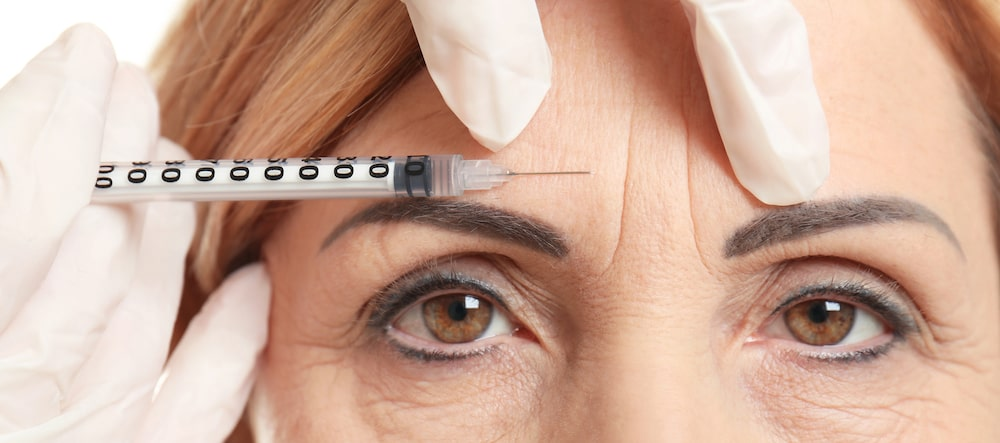 Botox brow lift celebrity cosmetic surgery trend