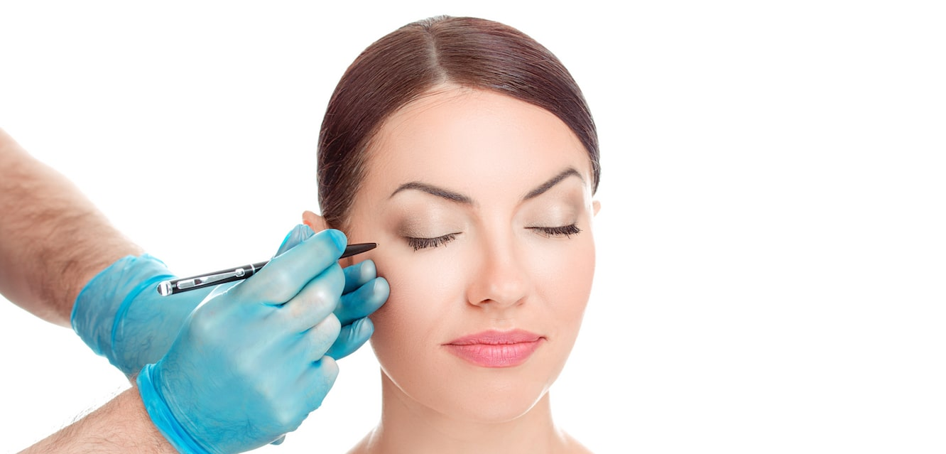 Eye-catching procedures to enhance the upper part of a face