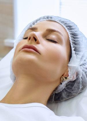 Facial plastic surgery preparation