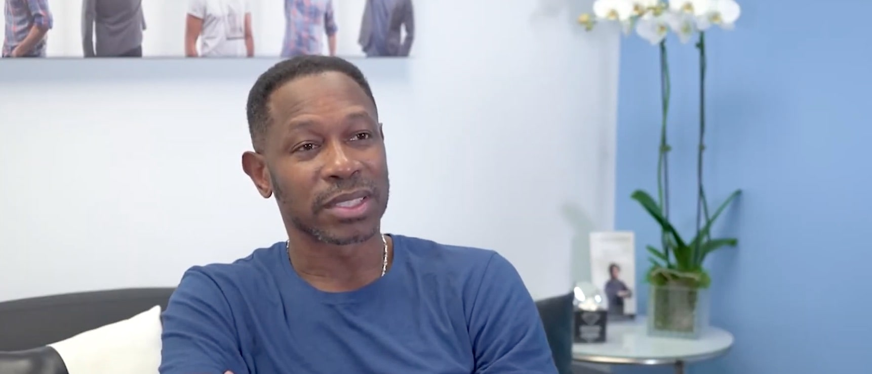 View the hair restoration results of MLB player Kenny Lofton