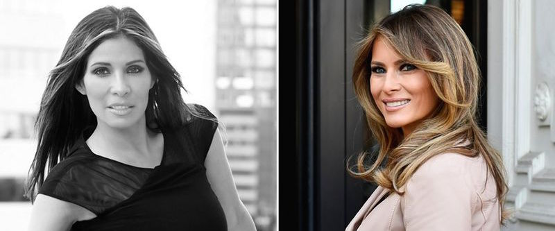 See the woman who spent thousands to look like Melania Trump