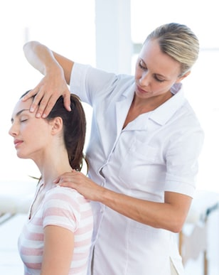 Neck Massage for Tech Neck Treatment