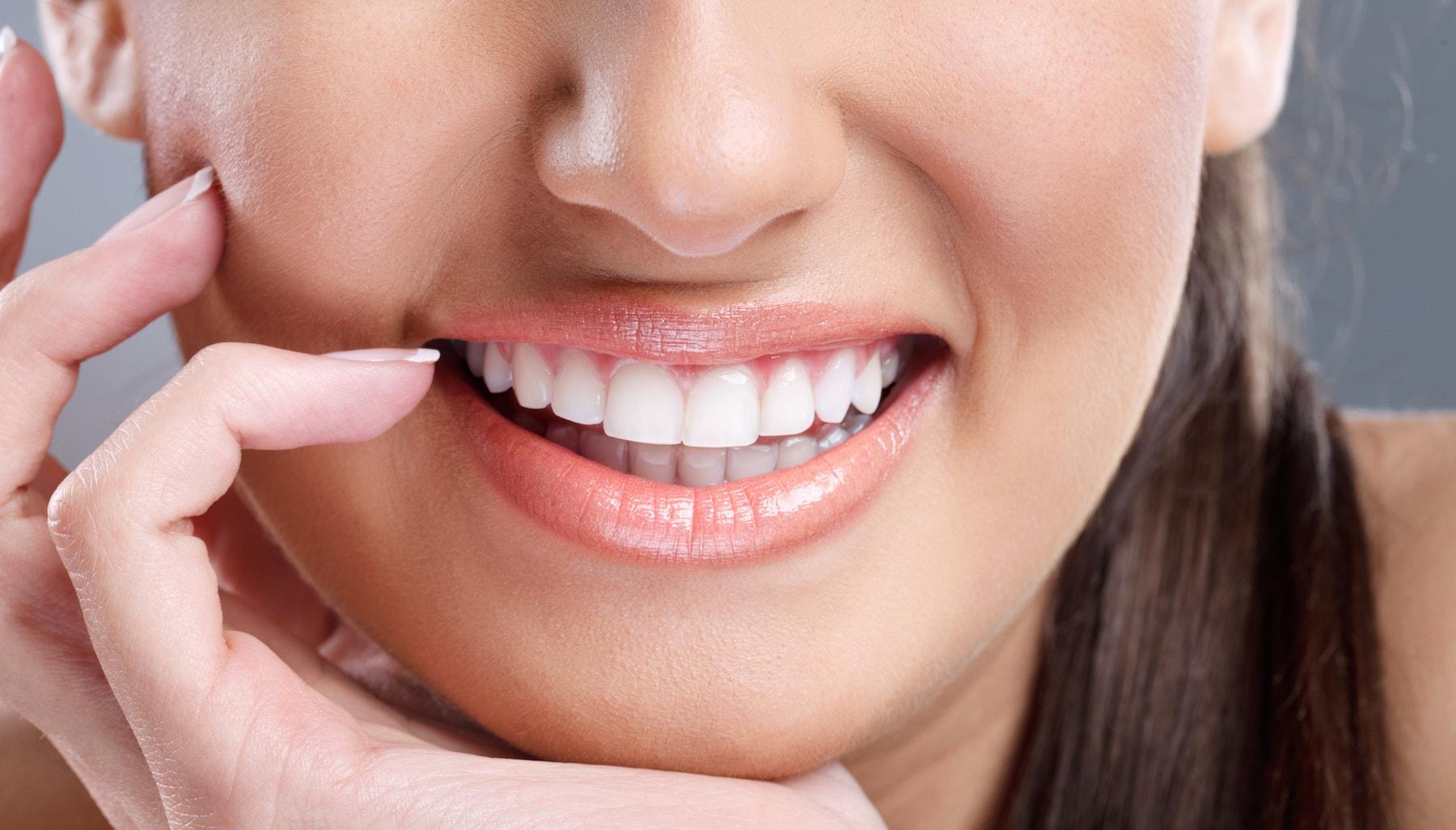Zoom teeth whitening gives people noticeably brighter teeth